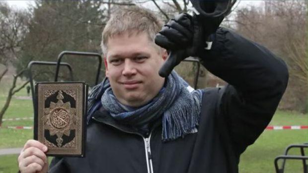 Rasmus Paludan (Tangkapan Layar Youtube)