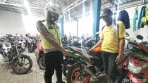 Puluhan Motor Knalpot Brong Diamankan Polisi Gresik dalam Sebulan