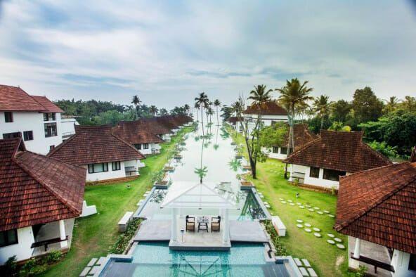 Resort mewah ubah fungsi kolam renang jadi kolam ikan