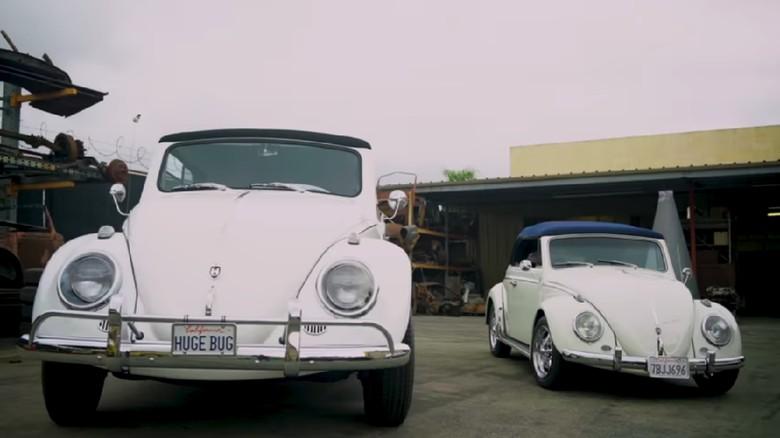 VW kodok ini dibuat lebih besar dari aslinya.
