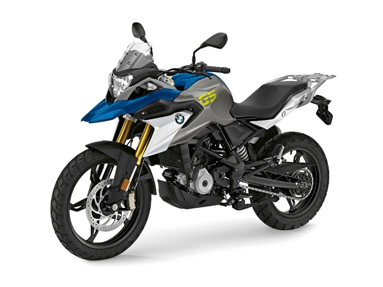 BMW G 310 GS Strato Blue Metallic