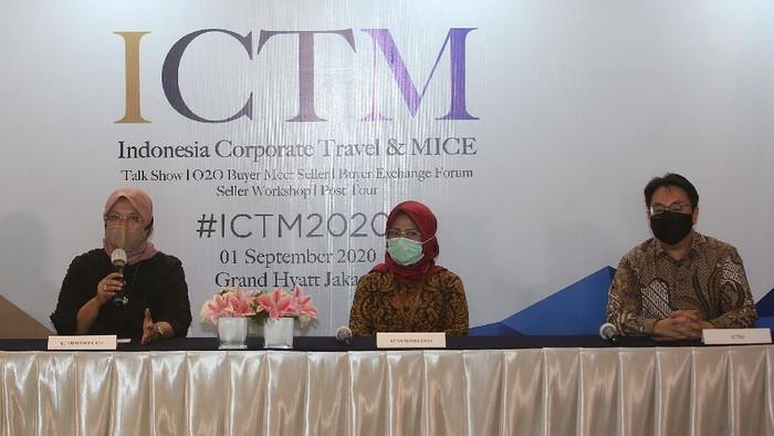 Kemenparekraf akan menyelenggarakan kegiatan Indonesia Corporate Travel and MICE (ICTM). Ajang ini sebagai salah satu upaya menggerakan perekonomian.