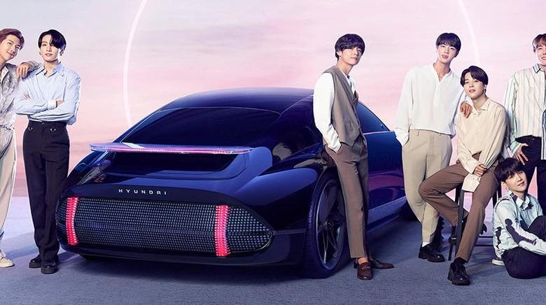 Hyundai Ioniq dibuatkan lagu oleh BTS