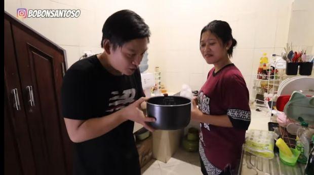 masak nasi pakai air zam-zam