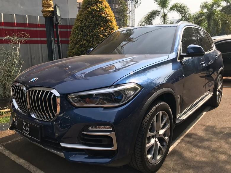 Mobil BMW Jaksa Pinangki