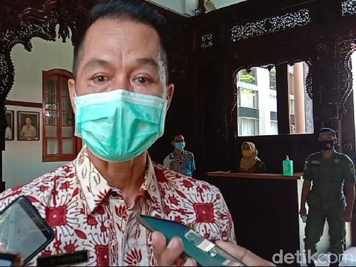 Plt Bupati Kudus HM Hartopo saat ditemui di pendapa Bupati Kudus, Selasa (1/9/2020).