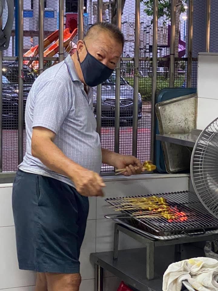 Penjual Sate di Singapura Masih Patok Harga Sama Selama 41 Tahun