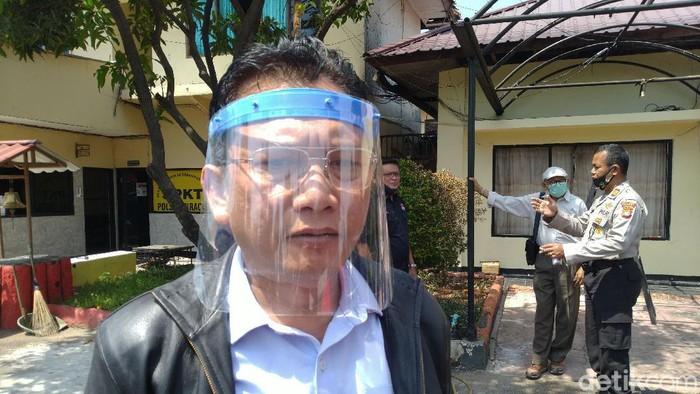 Wakil Ketua LPSK Edwin Partogi menyambangi Polsek Ciracas