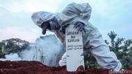 Satgas: Angka Kematian Akibat Covid Menurun Pekan Ini 8,9 %
