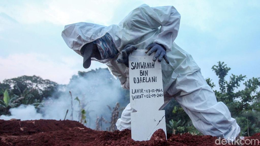 DKI-Bekasi Termasuk, Ini 26 Kab/Kota Kasus Kematian COVID-19 di Atas 100