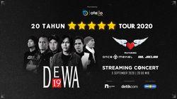 Cuma di detikcom! Streaming Konser Dewa 19 feat Once & Dul Jaelani