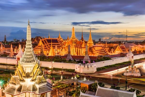Kota Bangkok, Thailand juga menjadi pilihan ke 10 bagi traveler perempuan untuk Asia. ( Getty Images/iStockphoto/SeanPavonePhoto)