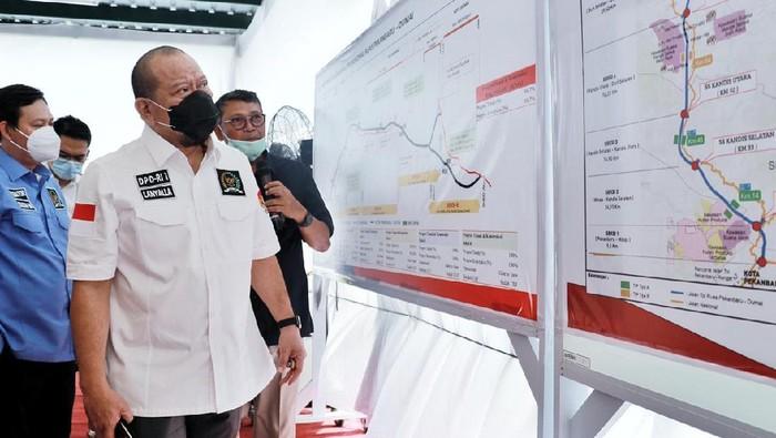 Ketua DPD kunjungan kerja ke Riau (Dok. DPD)