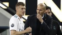 Pemain-pemain Madrid Tak Pernah Ragukan Zidane