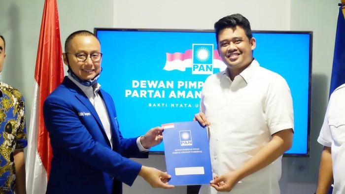 PAN serahkan dukungan ke Bobby Nasution (dok. Istimewa)