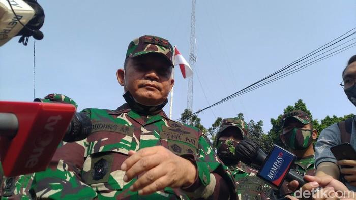 Pangdam Jaya Mayjen TNI Dudung Abdurachman (Sachril/detikcom)