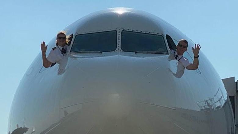 Pasangan pilot Joe dan Margrit Fahan