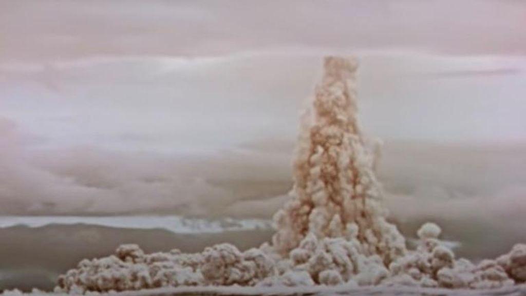 Rusia Ungkap Video Bom Nuklir Terdahsyat Dalam Sejarah
