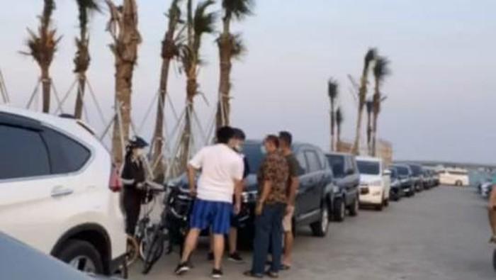 Viral Pria Ngaku Polisi Memaki Pesepeda di Pasir Putih PIK 2, Ini Faktanya