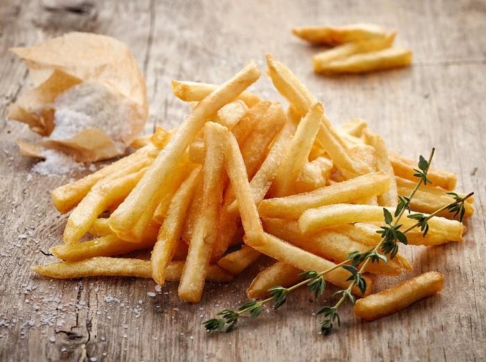 French Fries ala Nigella Lawson