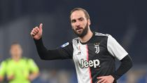 Juventus Resmi Lepas Gonzalo Higuain