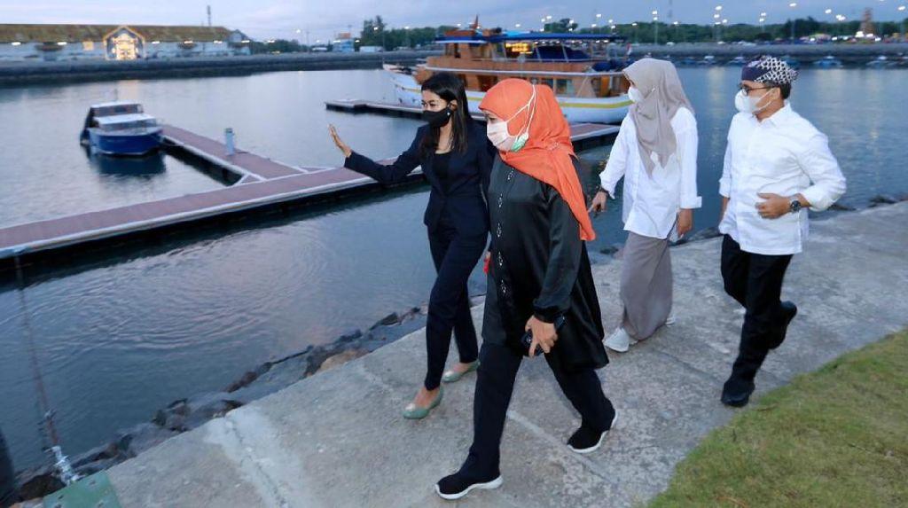 Gubernur Khofifah Yakin Banyuwangi Bakal Jadi Pusat Wisata Bahari Kelas Dunia