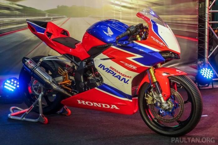 Honda CBR250RR versi balap diperkenalkan di Malaysia