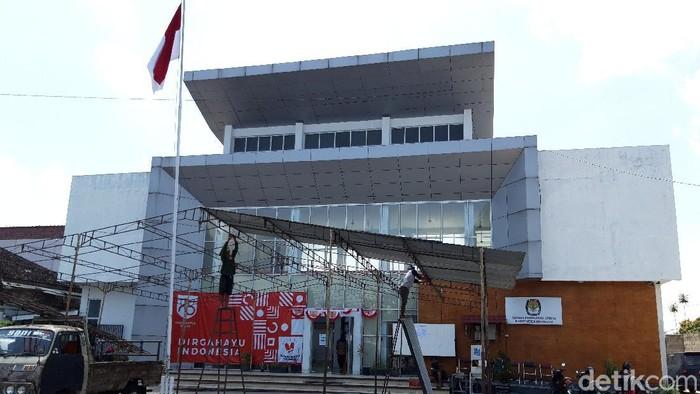 Kantor KPU Boyolali, Kamis (3/9/2020).