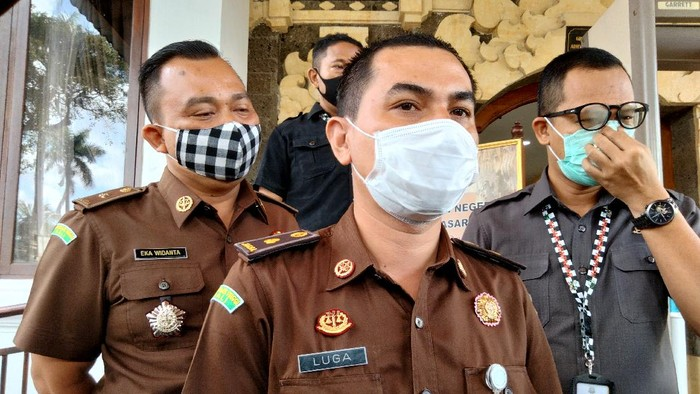 Kasi Penerangan Hukum Kejaksaan Tinggi Bali A Luga Harlianto.