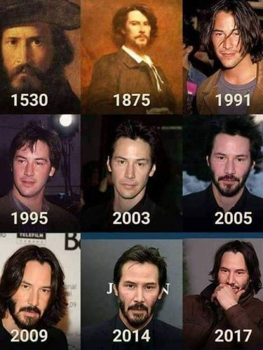 Keanu Reeves abadi
