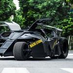 Ketika Motor 400 cc Disulap Menjadi Batmobile