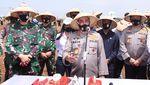 Sinergitas TNI-Polri untuk Ketahanan Pangan