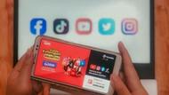 Kuota Ketengan Murah Rp 3.000 Bisa Akses Medsos dan Streaming Video