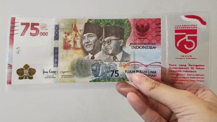 Uang Khusus Kemerdekaan RI ke-75
