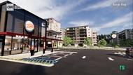 Ini Dia Desain Baru Drive Thru Burger King yang Anti Pandemi