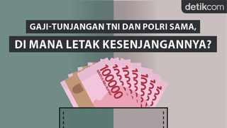 Gaji-Tunjangan TNI dan Polri Sama, di Mana Letak Kesenjangannya?
