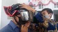 Melihat Helm Pendeteksi Suhu Tubuh demi Kurangi Kontak Langsung