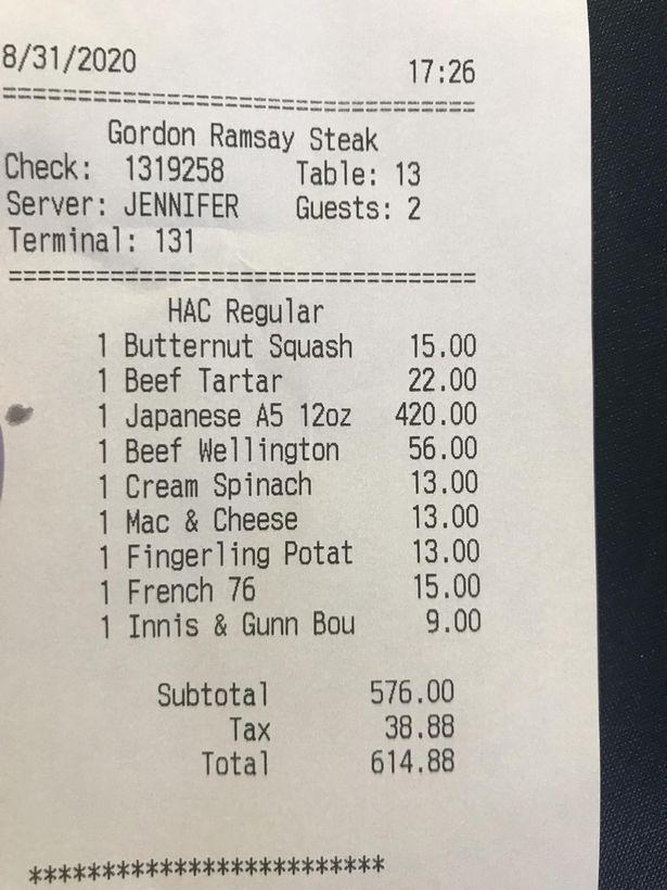 Kaget Habiskan Rp 9 Juta di Resto Gordon Ramsay