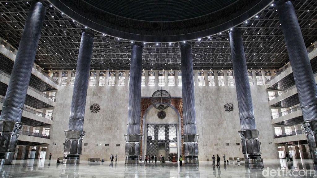 Masjid Istiqlal Kian Megah Setelah Direnovasi