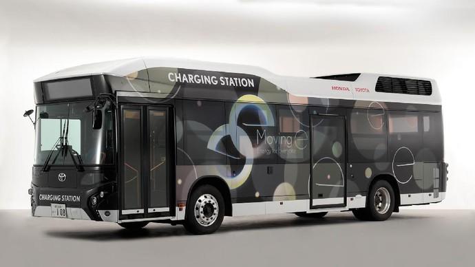 Moving e, bus hidrogen kerjasama Toyota-Honda