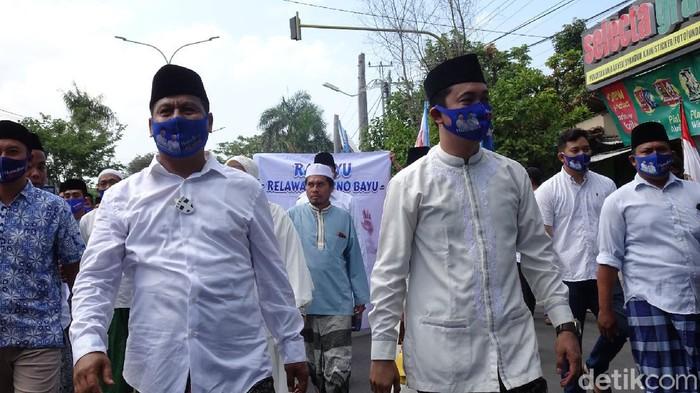 Pasangan Harno-Bayu di Pilkada Rembang