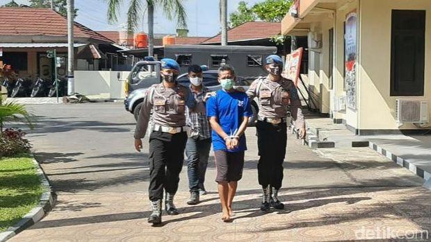 Pembunuh office boy (OB) kampus AKRB Yogya ditangkap, Jumat (4/9/2020).