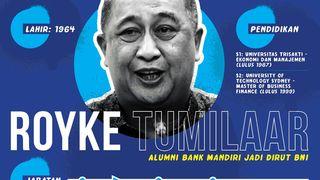 Profil Royke Tumilaar, Bos Baru BNI