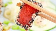 Keren! Netizen Ini Ubah Semangka Jadi Sashimi Tuna Vegan