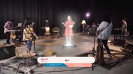 BCL Tampil dengan Konsep Hologram di Nenofest vol 2