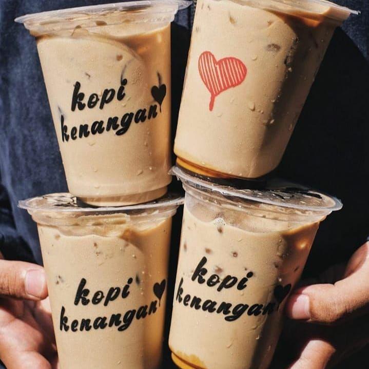 Es kopi susu rasa Indonesia banget