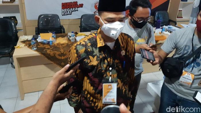 Ketua KPU Kabupaten Serang Abidin Nasyar