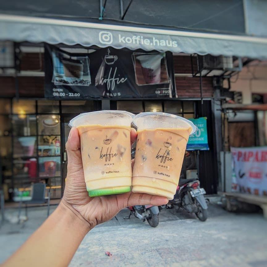 Kopi susu kekinian di Jakarta Barat