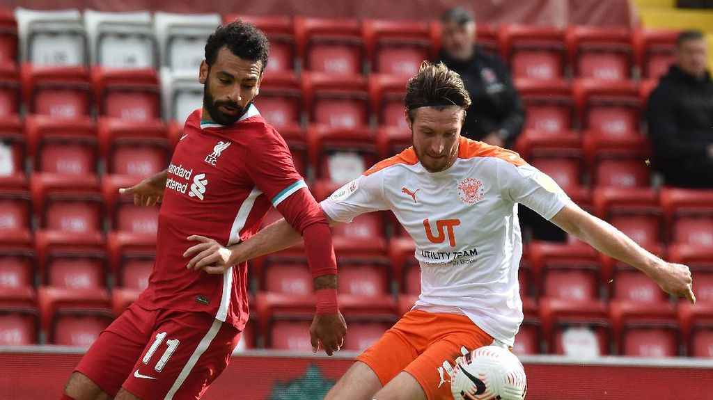 Laga Uji Coba: Liverpool Bantai Blackpool 7-2
