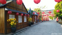 Foto Destinasi Baru Semarang, Gerbang Torii ala Jepang